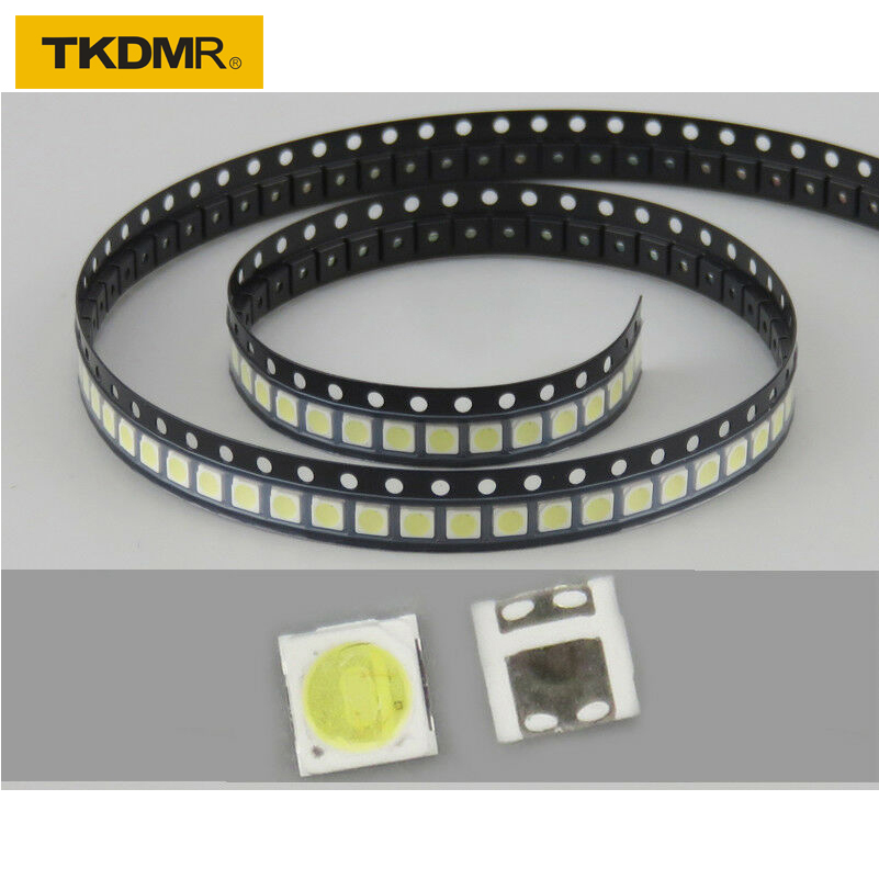 100Pcs 3030 SMD Lamp Beads 350mA  for LED TV Backlight Strip Bar//Module Light
