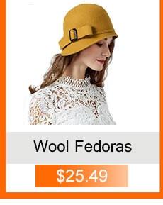 Wool fedora