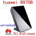 Más nuevo huawei b970b b970 original 3g router inalámbrico hsdpa 3g router WIFI 3g dongle 900/2100 MHz pk e5172 b683 b970 b593 b681