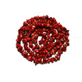 Wholesale Gravel irregular Shape Red Coral  5-8 mm Natural Stone Beads For Jewelry Making DIY Bracelet  Necklace Strand 34''