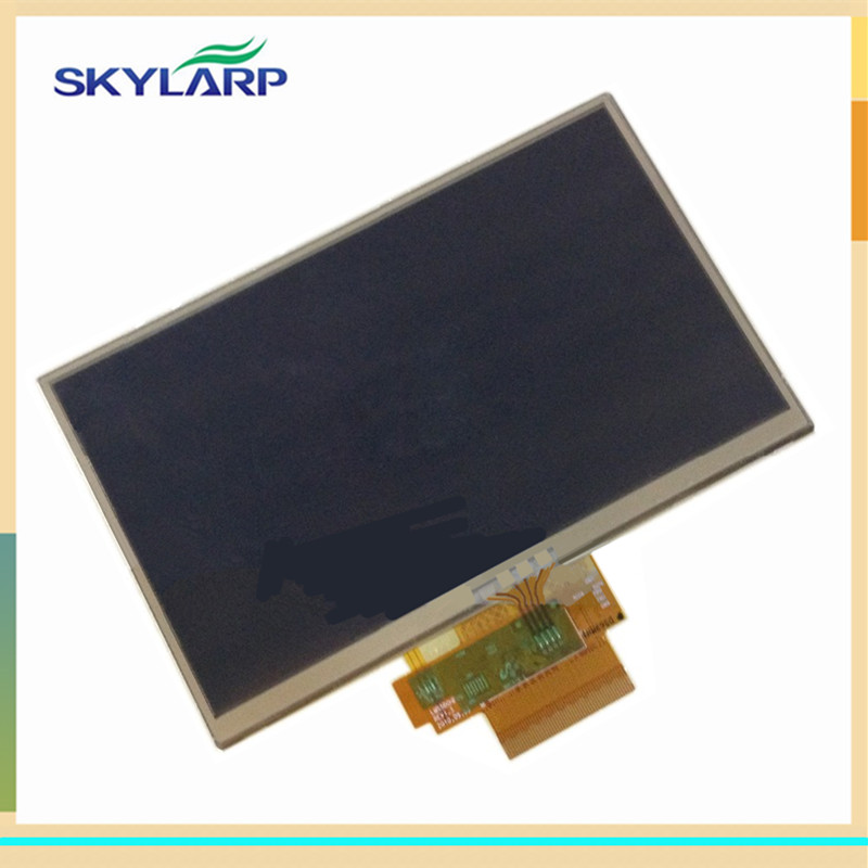 skylarpu 5 inch LCD screen panel For TomTom GO Live 825 525 GPS LCD display with touch screen digitizer panel divage тушь для ресниц 90х60х90 тон 6102
