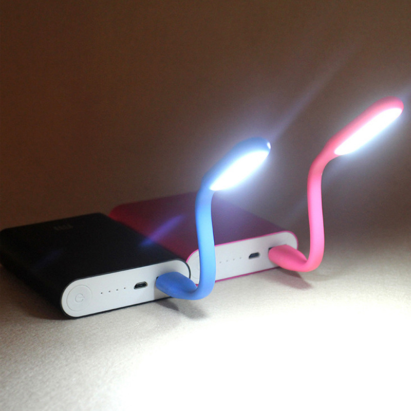 Multicolor Mini Car-styling Reading Lamp USB LED Light Computer Lamp for Notebook PC Laptop Reading Night Silica Gel 20