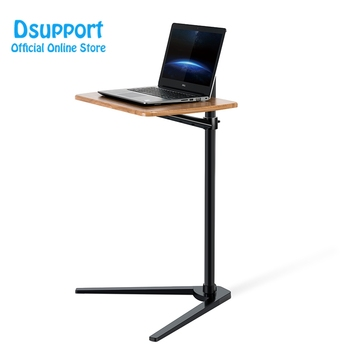 цена на Movable UP-8T Aluminum 7-20 inch Laptop Floor Stand Height Adjustable bedside Lapdesk Sofa Desk for Tablet PC Notebook Tea Table