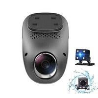 KLYDE 4G ADAS Dashcam Android GPS Kreska Aparat z Dwoma Obiektywami Camara Automovil Night Vision Auto Samochód Dvr Kamera Mini Nie Ekran Wifi