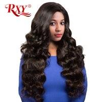 RXY Brazilian Body Wave Remy Hair Weave Bundles 1PC 100 Human Hair Bundles Natural Color 10