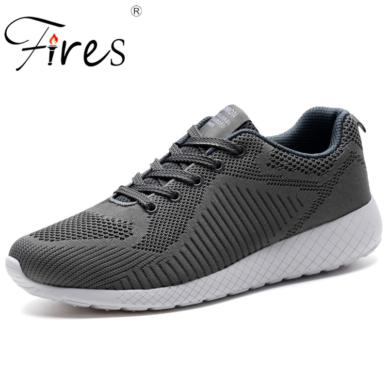 Fires Autumn Sport Shoes For Men Comfortable Outdoor Running Shoes Breathable Mesh Trainer Sneakers Brand Trend Walking Shoes  2017 fires men s sport running shoes breathable men sneakers wholesale outdoor sport runner shoes spor ayakkabi anti slip