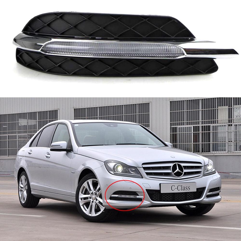 Car drl kit for mercedes benz w204 c200 c260 2011 2012 for Mercedes benz lighter