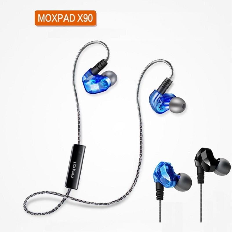 New Arrival MOXPAD X90 Bluetooth 4.1 Wireless Earphones Sweat proof Sport earphone with Microphone for For MP3 MP4 Cellphone new arrival awei a840bl wireless sports bluetooth 4 sweat proof for iphone android mp3 mp4 ipad ipod with microphone