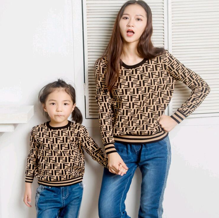 family set casual sweaters clothing mommy and me clothes mother/mom/mum and daughter/son clothes family look matching outfits 2017 summer children clothing mother and daughter clothes xl xxl lady women infant kids mom girls family matching casual pajamas