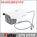 HIK DS-2CE16D1T-IT3 HD 1080P EXIR Bullet Camera Analog HD Output 2MP IP66 True Day/Night CCTV Surveillance Camera