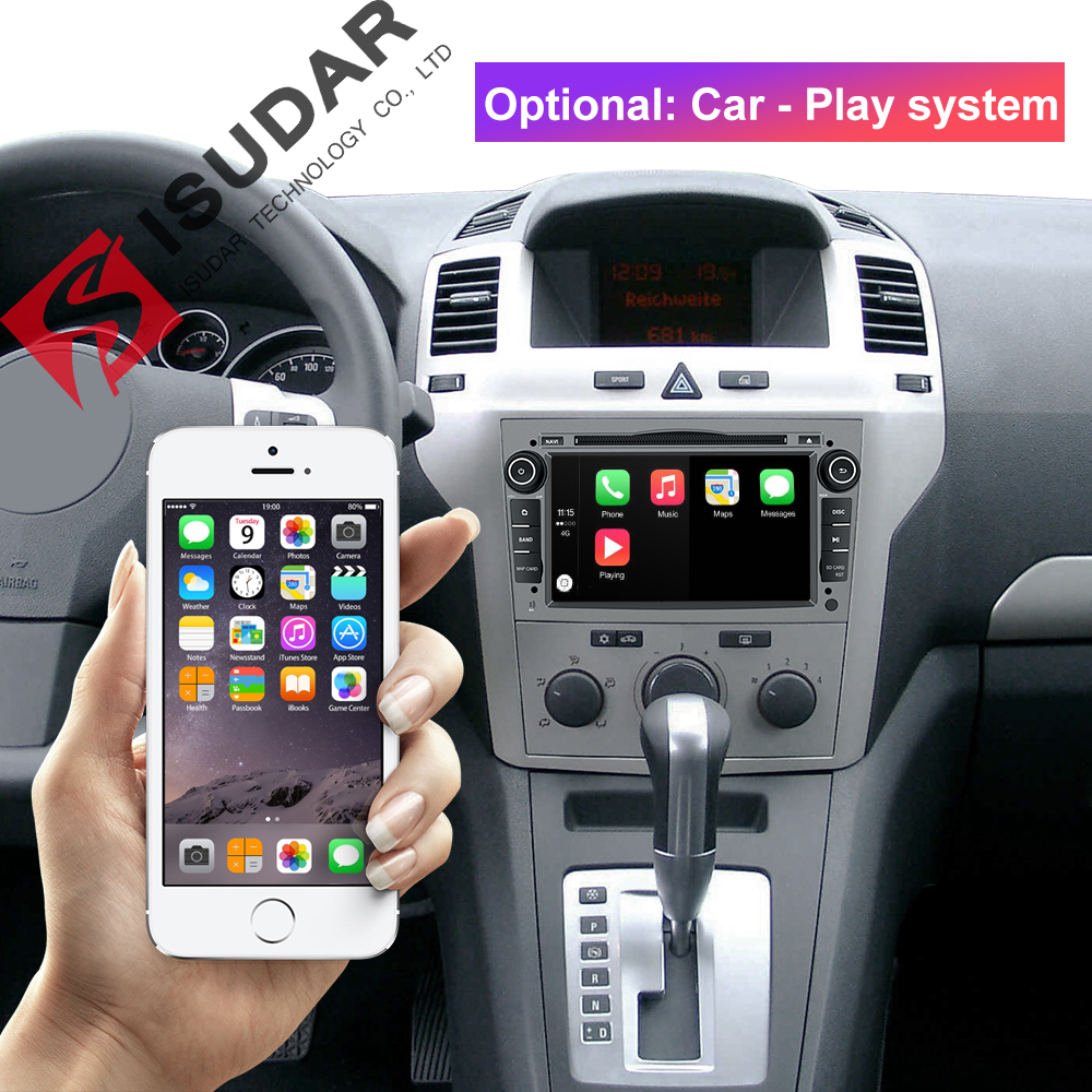 Image 3 - Isudar Car Multimedia Player GPS Android 9 2 Din DVD Automotivo For OPEL/ASTRA/Zafira/Combo/Corsa/Antara/Vivaro Radio FM DSP DVR-in Car Multimedia Player from Automobiles & Motorcycles