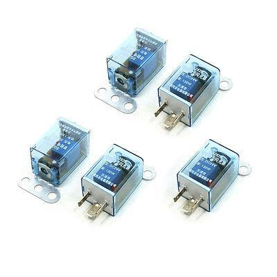 SG152B/SG252B DC 24V 12V 130W 3 Pin LED Light Fast Blink Flash Auto Car Flasher Relay 5 Pcs 5 pcs blue wired ceramic socket led indicator light 3p car flasher relay dc12v