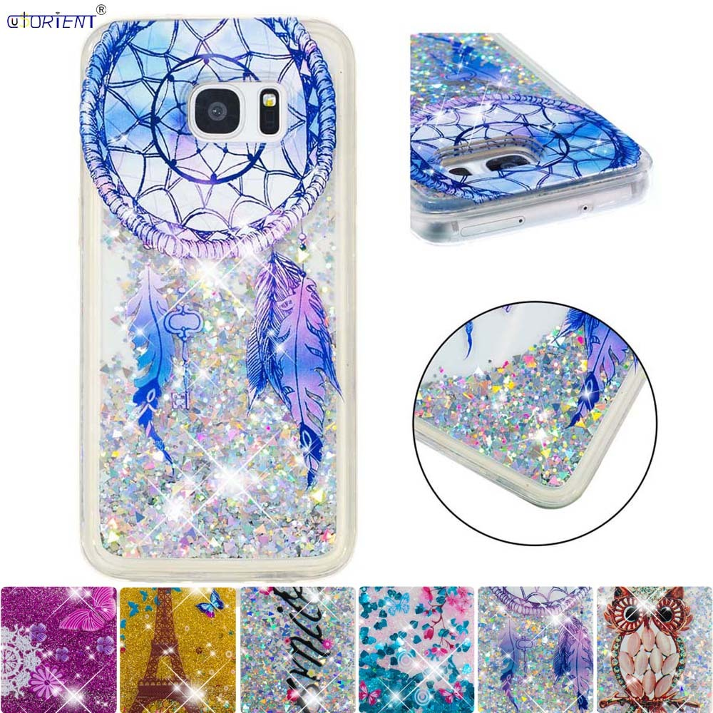 Cellphones & Telecommunications Glitter Case For Samsung Galaxy S7 Edge Cute Bling Dynamic Quicksand Liquid Phone Cover Sm-g935f Sm-g935fd Soft Tpu Cases Funda Skillful Manufacture