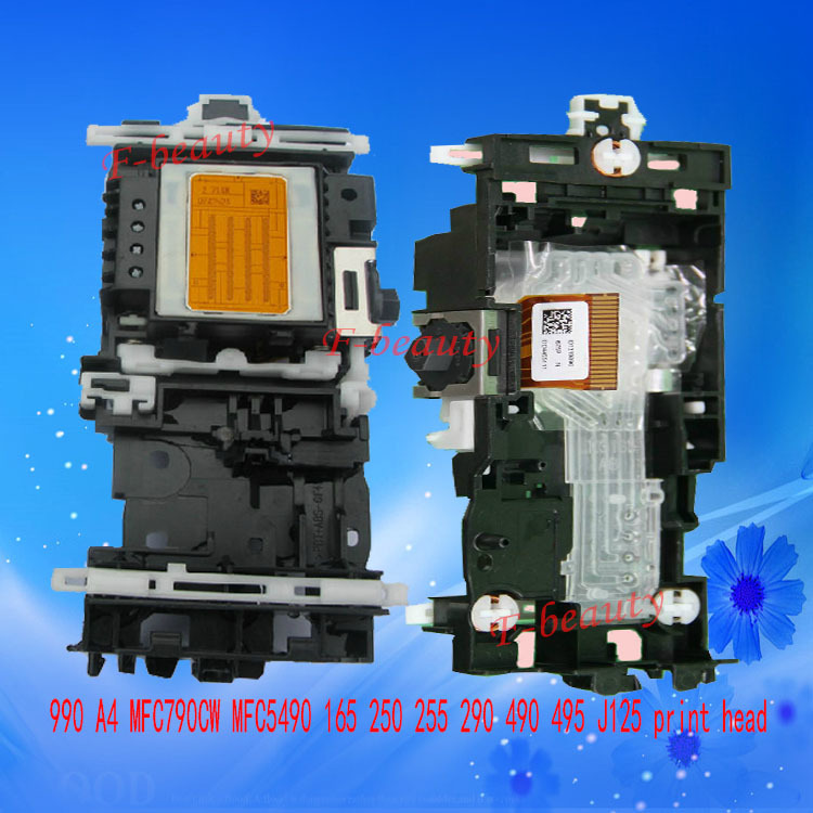 New Original 990 A4 Print Head Compatible for Brother 145 165 185 350 385 250 255 290 490 495 790 795 J125 J410 j220 Printhead 4 color print head 990a4 printhead for brother dcp350c dcp385c dcp585cw mfc 5490 255 495 795 490 290 250 790 printer head