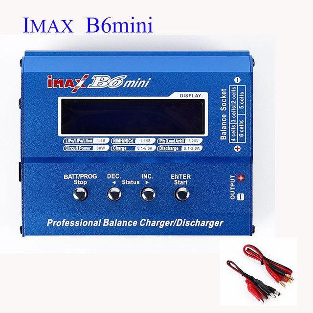 100% Original IMAX B6 AKASO MINI 60 W Carregador Equilíbrio Descarregador Para RC Helicóptero Re-peak Modo de Carregamento Da Bateria
