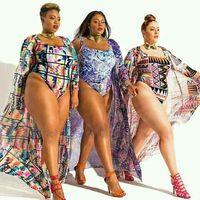 WATER PRINCESS Hot Plus Size One Piece Swimsuit Big Bust Women Swimming Suit Summer Bathing Suit Beachwear