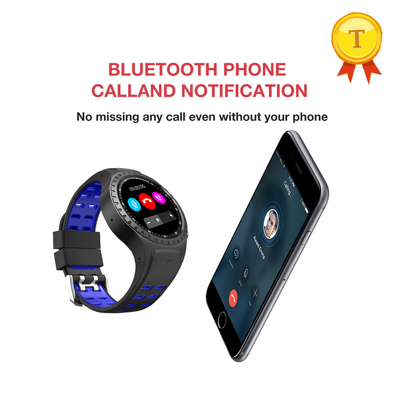 sport Bluetooth Smart Watch Support Heart Rate Monitor Micro SIM card Dial Call GPS wristWatch Smartwatch
