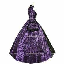 Wholesalelolita Top Verkauf jahrhunderts Lila und Schwarz Stil Marie  Antoinette Gothic Ballkleid Club Kleid(China bccd3a2ecb