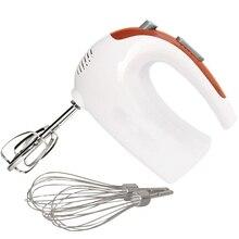 HIMOSKWA многофункциональный мини электрический миксер 220 В 5 скоростей ручное приспособление для взбивания яиц кухонный комбайн инструмент для выпечки дома