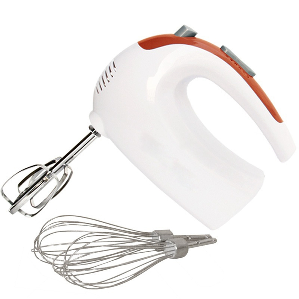 HIMOSKWA Multifunctional Mini Electric Food Mixer 220V 5 Speed Handheld Egg Beater Whisk Kitchen Food Processor Home Baking Tool