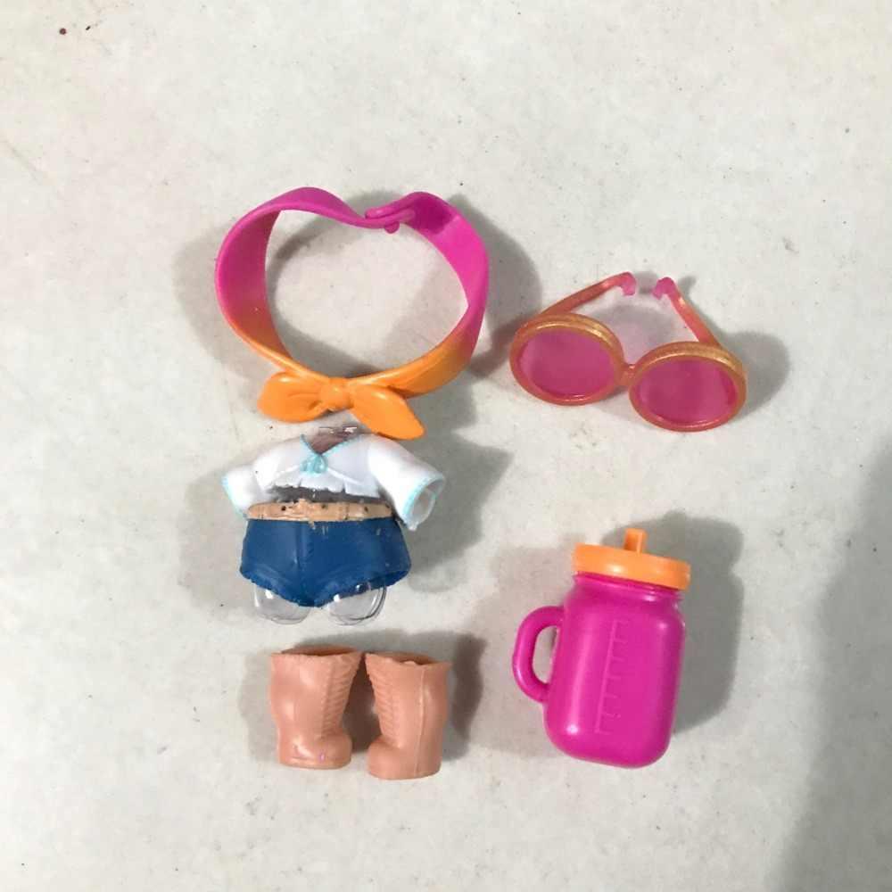 すべてのシリーズ Origina 笑美しい洋服人形 DIY 笑人形フィギュア玩具装飾毛の靴のための人形