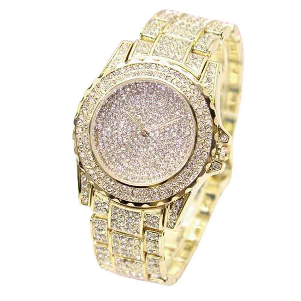 Permalink to 2019 Fashion Relogio Feminino Watch Women Lover'S Watch Full Rhinestones Relogio Masculino Luxury Brand Light Mens Watch