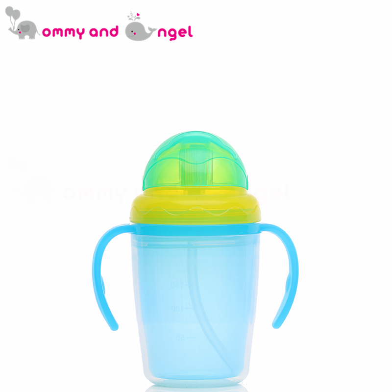 MOMMY AND ANGEL Calssic Boy&Girl Closer to Nature Fiesta Bottle Sippy Cup for Kids Straw Feeding Bottle (5 Colour,230ml,BE/010)