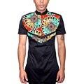 Африканские мужские топы с погон на заказ мужчины dashiki одежды моды для мужчин с коротким рукавом африканских рубашка на заказ