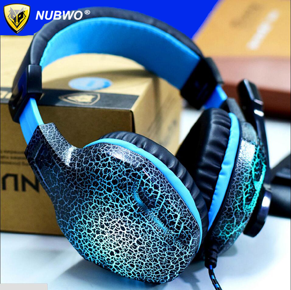 NUBWO NO 3000 Over ear Game Gaming Headset Earphone Headband ...