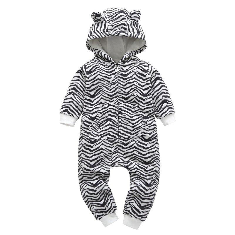 HTB1X6Glg nI8KJjSszbq6z4KFXae kid boy girl Long Sleeve Hooded Fleece jumpsuit overalls red plaid Newborn baby winter clothes unisex new born costume 2019
