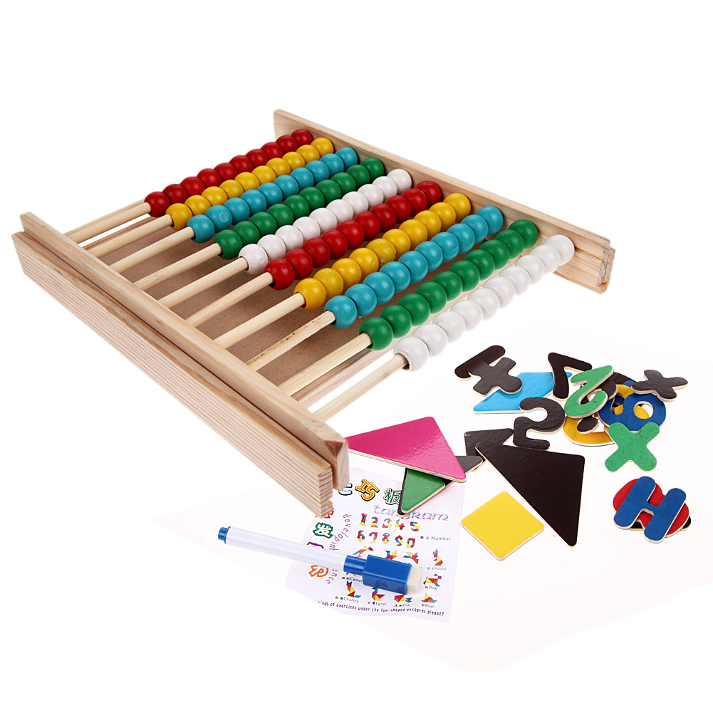 Early Educational Math Multifunction Digital Building Blocks Toy Teaching Learning Toy Kids New Year Gift Colored Drawing Board