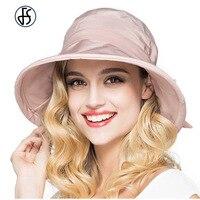 Donne di Estate Fedora Cappello Largo Del Bordo Alette Parasole UV Cappelli Floppy Sombrero Playa Mujer Beach Sun Hat