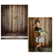 Wood Wall Vinyl cloth Photography Background For Children Oxford Backdrops Wood Floor For Photo Studio 1653 недорого