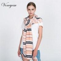 Voneyesaผู้หญิงฤดูหนาวผ้าพันคอพิมพ์ลายผ้าฝ้ายผ้าพันคอที่มีพู่ฤดูใบไม้ร่วงที่มีคุณภาพสูงผู้...