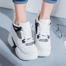 Fashion Casual Wedge Sneaker Women 6.5 cm Internal