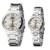 De lujo de la Marca de fábrica de Eyki Relojes de Cuarzo Calendario Hombres de Acero Inoxidable Reloj de Las Mujeres Amantes Luminosos Impermeable Reloj Relogio Feminino