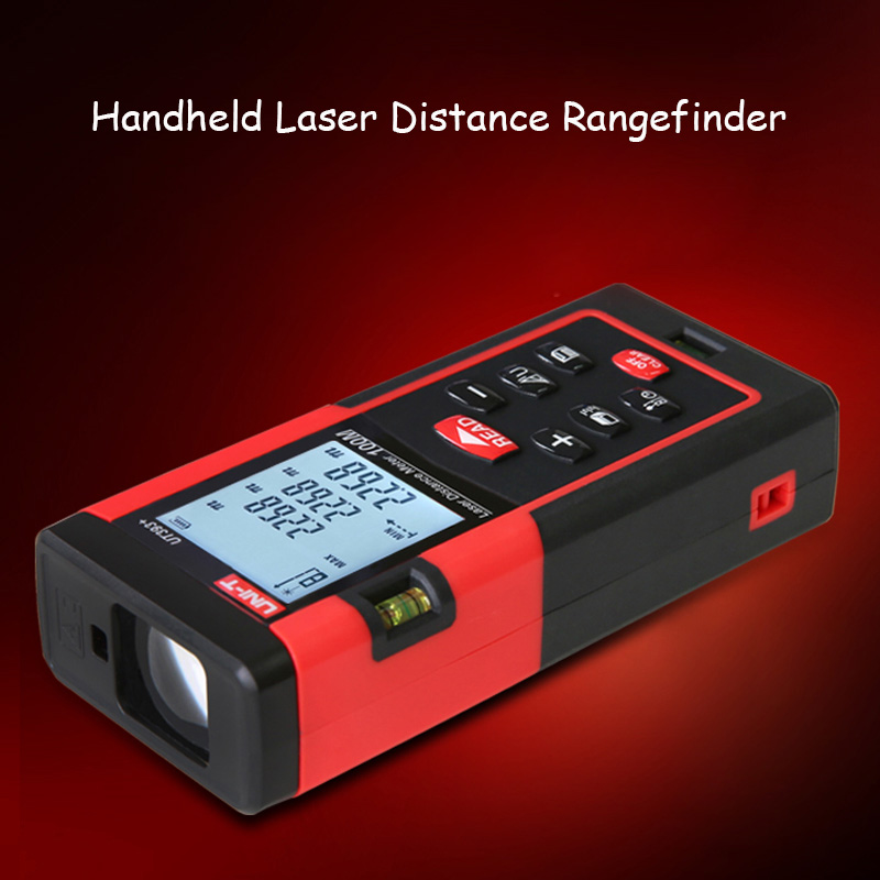 40m Handheld Laser Distance Meter Rangefinder Digital Laser Range Finder Laser Tape Measure Tester Area/volume Tester Tool 0 05m 70m 230ft professional handheld laser range finder distance meter tester area volume pythagorean measure tecman tm70
