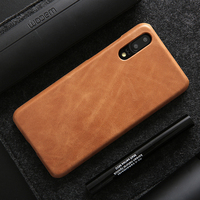 Toraise Case For Huawei P20 Pro Cases Luxury Vintage Genuine Leather PC Back Cover Case For