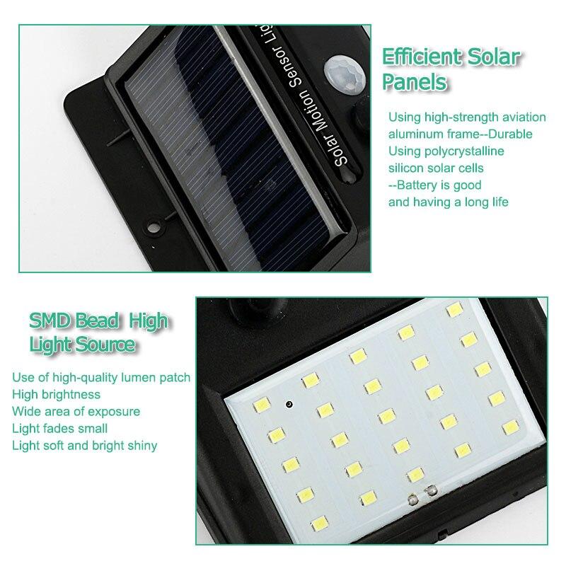 Lâmpadas Solares livre À prova d' Água Garantia : 1 Year