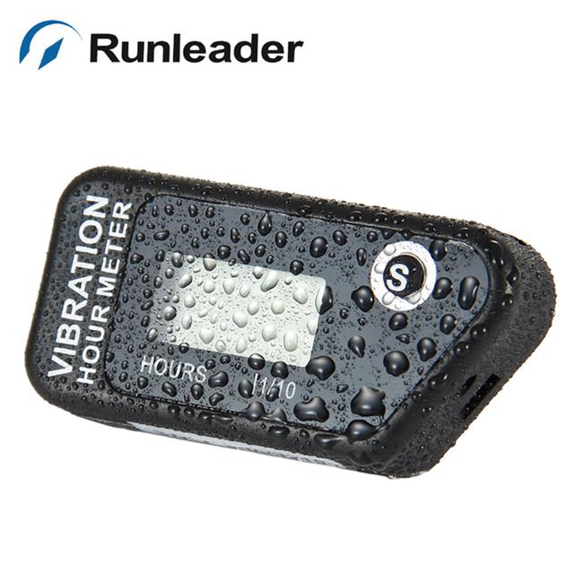Runleader HM016B Reajustable Cronómetro Hilos de la Vibración para ATV motocross moto de agua generadores mower chainsaw