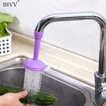 DIVV Happy Home Swivel Water Saving Tap Aerator Diffuser Faucet Filter Connector Popular Purple 1 Piece