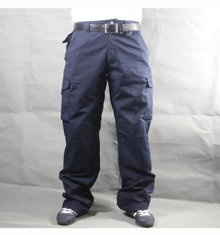 Working pants men multi pockets work cargo pants large size loose style men\'s labor trousers wear-resistance welding repairman (15)