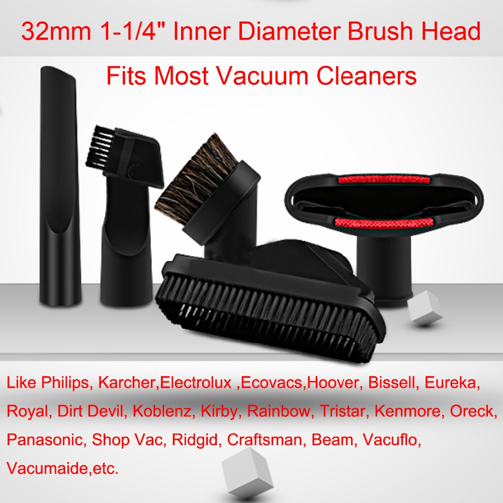 5Pcs/Lot Vacuum Cleaner Cleaner parts horsehair nozzle head & Brush for Philips karcher electrolux ecovacs Replacement 3pcs lot steam cleaner brush round brush with scraper attachment for karcher sc952 sc1020 sc1052 sc1122 sc1125 sc1402 etc
