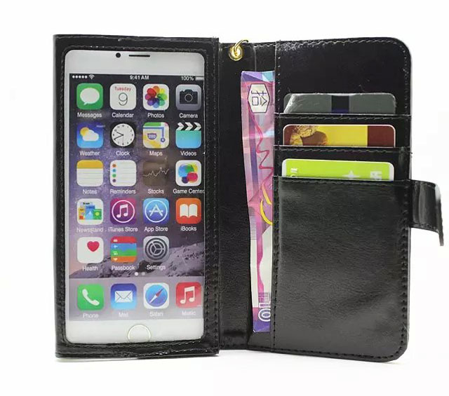 Hand Strap Card Wallet Touch Screen Mobile Phone Leather Case Bags For Samsung Galaxy On8/on5/S7/J3(2016)/A7/E7/S6 EDGE,