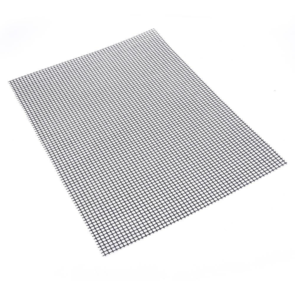Антипригарный коврик для гриля для барбекю с высоким уровнем безопасности в форме сетки коврик для барбекю с термостойкостью 30x40x02 см для активного отдыха купить на AliExpress