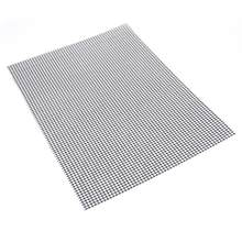 Non-stick Barbecue Grilling Mats High Security Grid Shape BBQ Mat with Heat Resistance 30x40x0.2cm For Outdoor Activities(China)