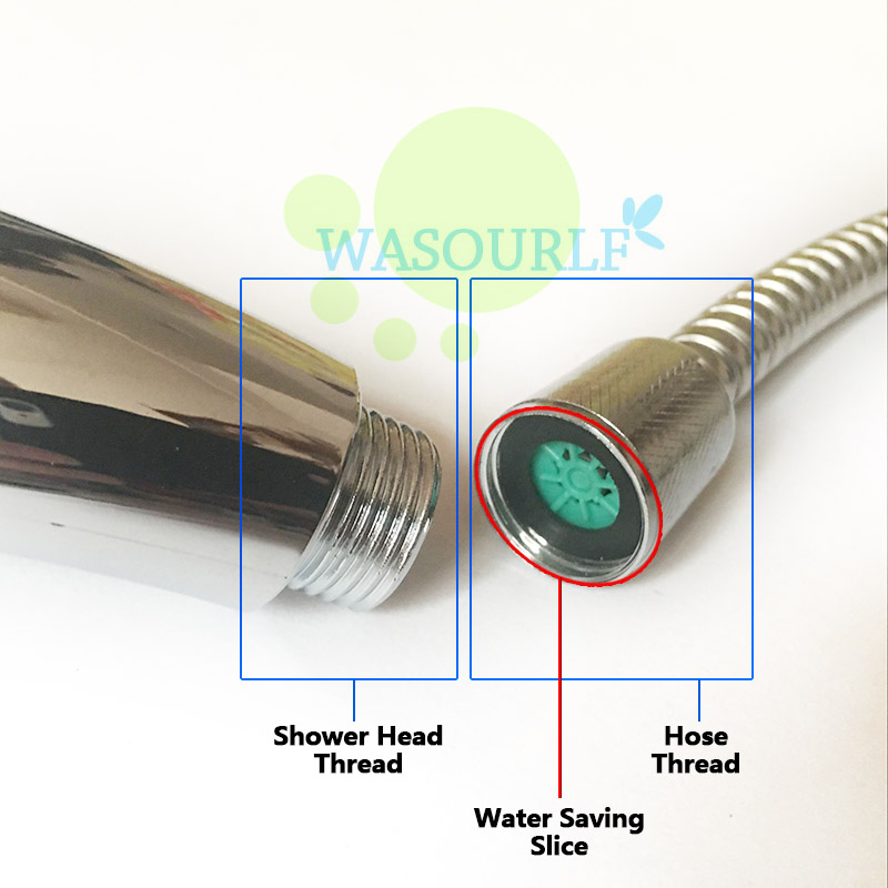 WASOURLF 2 pcs water saving device slice aerator used for shower ...