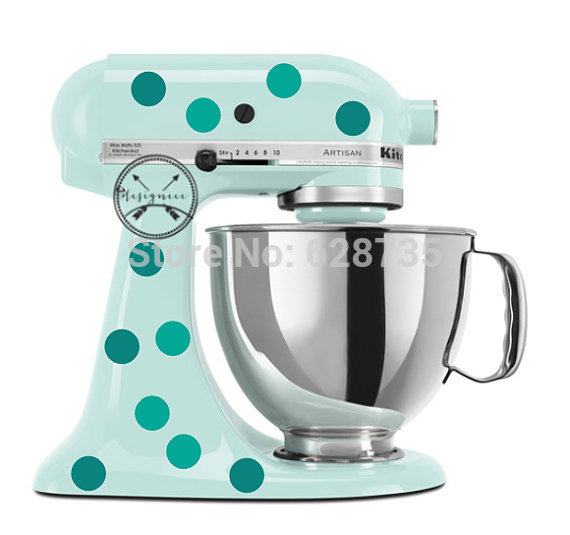 Beautiful Discounted Kitchenaid Mixer Dot Decals Dots Circle Vinyl Sticker For Your Stand And Inspiration Decorating
