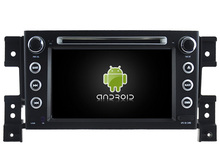 Android 7.1 car dvd GPS for SUZUKI GRAND VITARA 2005-2012 1024*600hd 1080p GPS RADIO WIFI 3G MAP NAVIGATION camera mirror link