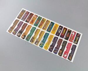 Image 5 - לקוחות עיצוב עבור Nintendo Gameboy Advance תווית מדבקת Lable עבור GBA קונסולה חזרה תג 28 יח\חבילה = 1 סטים